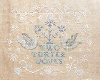 Two Turtle Doves - Cross Stitch Pattern
