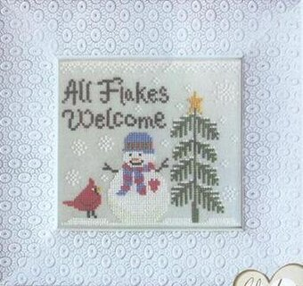All Flakes Welcome - Cross Stitch Pattern