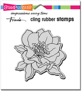 Small Hellebore - Cling Rubber Stamp