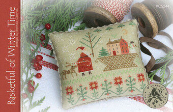 Basketful of Winter Time - Cross Stitch Pattern