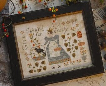 Queen of Harvest - Cross Stitch Pattern