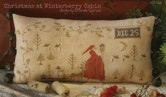 Christmas at Winterberry Cabin - Cross Stitch Pattern