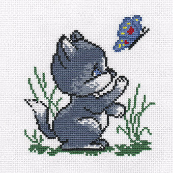 Kitty - Cross Stitch Kit