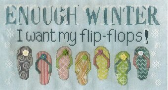 Enough Winter - Cross Stitch Pattern