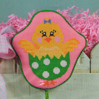 Chick in Egg - Cross Stitch Pattern