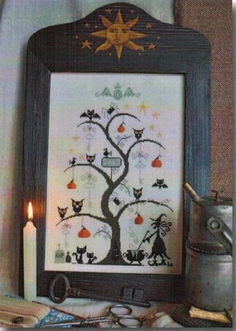 O Halloween Tree - Cross Stitch Pattern