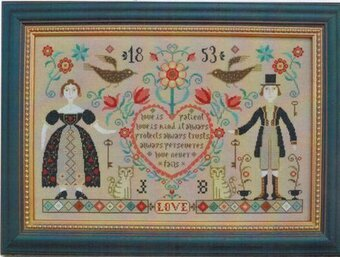 Love Never Fails - Cross Stitch Pattern
