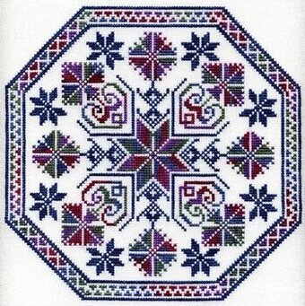 Dreaming, The - Cross Stitch Pattern
