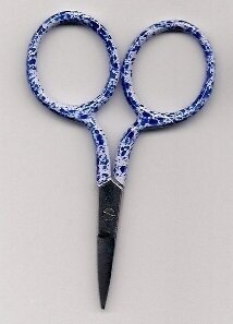 Spotty Blue Scissors