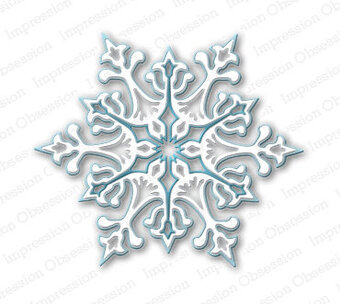Impression Obsession Large Snowflake Die
