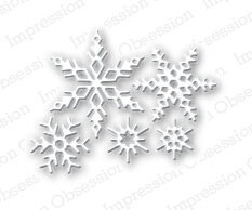 Impression Obsession Small Snowflake Die Set