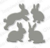 Impression Obsession Rabbit Die Set
