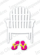 Impression Obsession Single Beach Chair Die Set