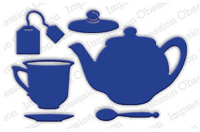 Impression Obsession Tea Set Die