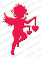 Impression Obsession Cupid with Hearts Die