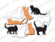 Impression Obsession Mini Cats Die