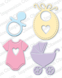 Impression Obsession Baby Die Set