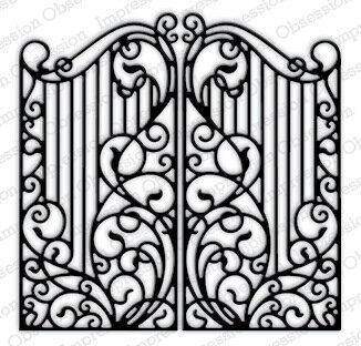 Wrought Iron Fence Craft Die