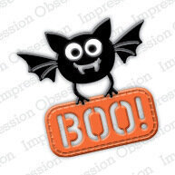 Bat with Sign Craft Die