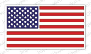 Impression Obsession US Flag Die