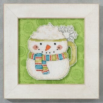 Frosty Mug (Debbie Mumm) - Beaded Cross Stitch Kit