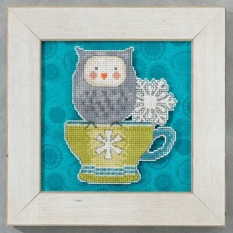 Warm & Wise (Debbie Mumm) - Beaded Cross Stitch Kit