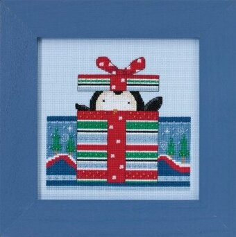 Polar Peek - Beaded Cross Stitch Kit