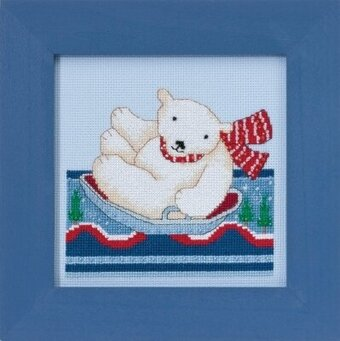 Polar Slide - Beaded Cross Stitch Kit