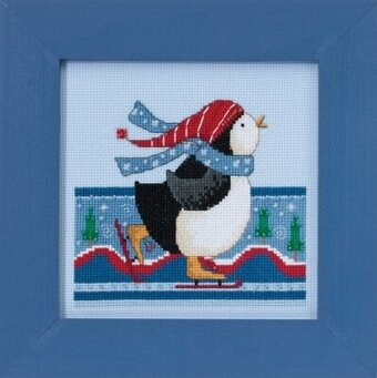Polar Skate - Beaded Cross Stitch Kit