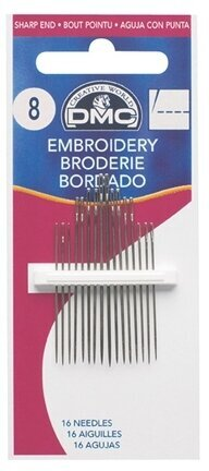 DMC Embroidery Hand Needles Size 5
