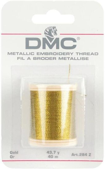 DMC Metallic Gold Thread 284Z