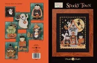 Spooky Town (Debbie Mumm) - Cross Stitch Pattern