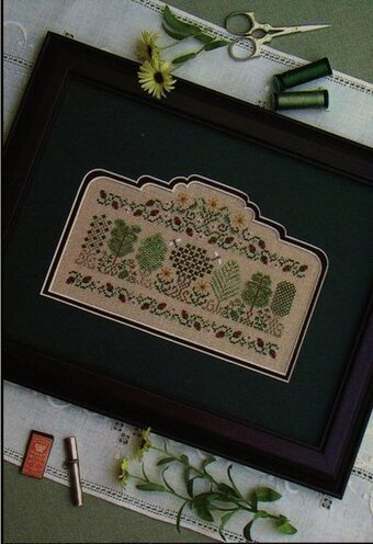 Summer Arbor - Cross Stitch Pattern