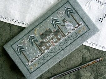 Pocket Calendar Cover - January - Cross Stitch Pattern