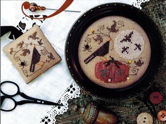 Full Moon - Cross Stitch Pattern