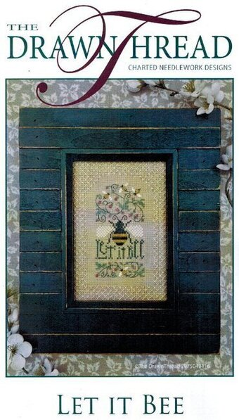 Let It Bee - Cross Stitch Pattern
