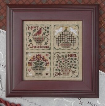 Christmas Baskets - Cross Stitch Pattern