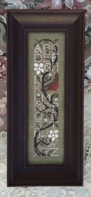 Apple Blossom Sampler - Cross Stitch Pattern