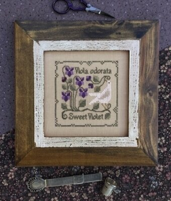 Sweet Violet - Cross Stitch Pattern
