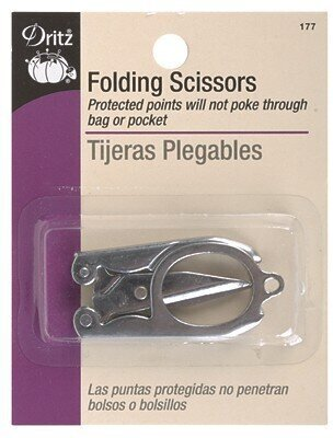 "Dritz Folding Scissors 3"" Steel"