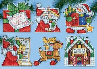 Santa's Workshop - Counted Cross Stitch Kit