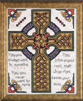 Design Works Celtic Cross Counted Cross Stitch Kit 2417
