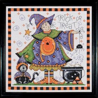 Trick or Treat - Halloween Cross Stitch Kit