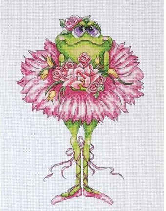 Frog Bouquet - Counted Cross Stitch Kit