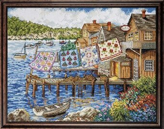 Dockside Quilts - Counted Cross Stitch Kit