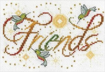 Friends - Cross Stitch Kit
