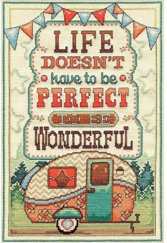 Wonderful Life - Cross Stitch Kit