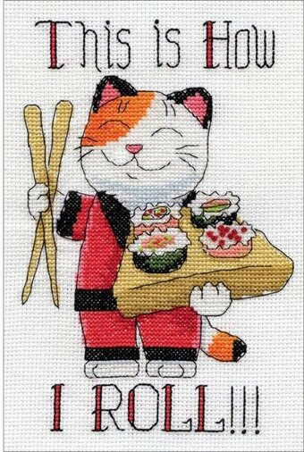 How I Roll - Cross Stitch Kit