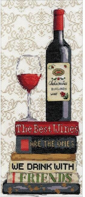 Red Wine - Cross Stitch Kit