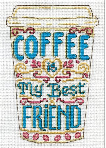Coffee - Counted Cross Stitch Kit